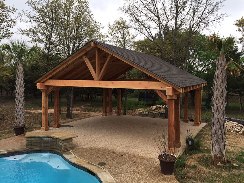 Exceptionnel Patio Covers Gable Roofs