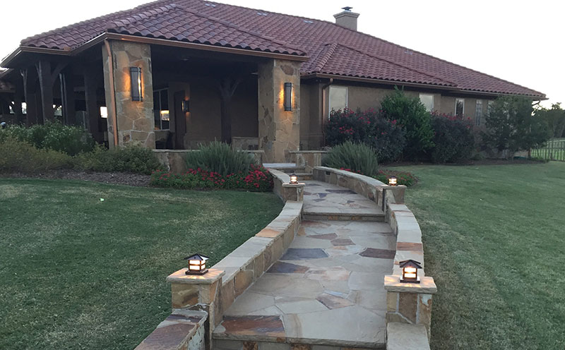 custom outdoor patios and walkways services in aledo, tx