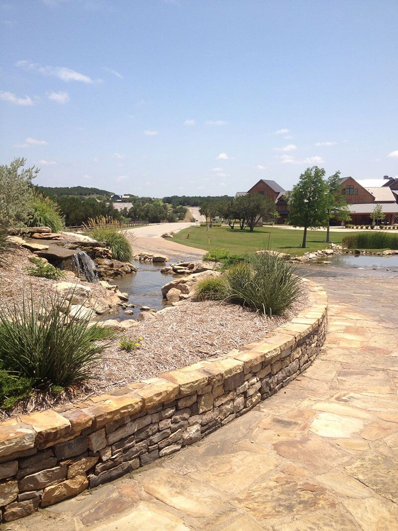 Fort Worth Top Quality Retaining Walls Services Panther