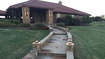 Flagstone Concrete Patios