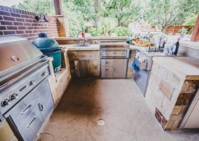 All the options for this Outdoor Kitchen - Fort Worth