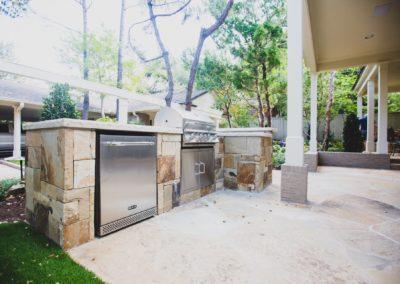 Outdoor Kitchen - Park Hill Fort Worth