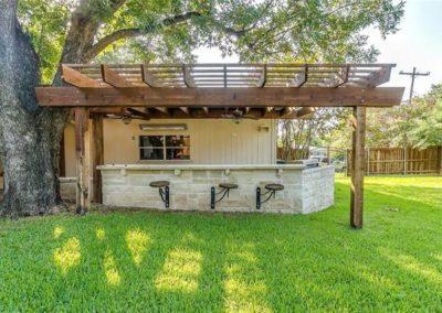 Cedar Pergola - Ridglea Fort Worth